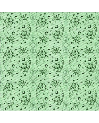 East Urban Home Gwion Green/Light Green Area Rug X113679326 Rug Size: Rectangle 3' x 5'
