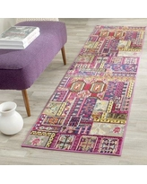 """Bungalow Rose Chana Pink Area Rug BNGL6653 Rug Size: Runner 2'2"""" x 8'"""