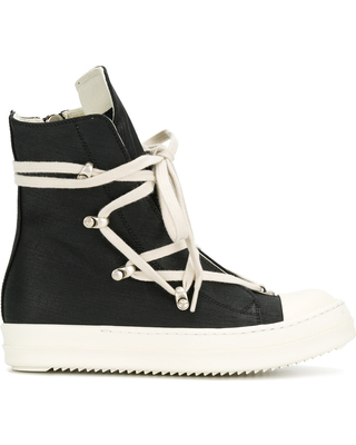 45d170e4176 Snag These Sales! 60% Off Rick Owens DRKSHDW sneaker boots - Black