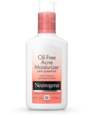 Neutrogena Oil-Free Acne Pink Grapefruit Facial Moisturizer, 4 oz | CVS