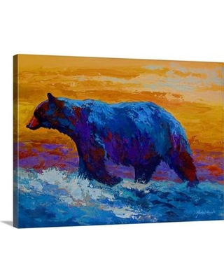 Canvas On Demand 'River's Edge I' by Marion Rose Painting Print on Canvas 1156923_24_24x18_none