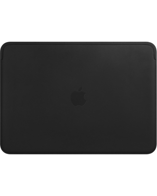 best sneakers 4643e 1fd04 Apple Leather Sleeve for 13-inch MacBook Air and MacBook Pro - Black from  Apple | ShapeShop
