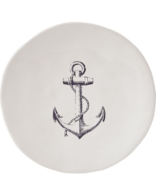 Anchor White Salad Plate (Set of 4)