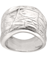 Silpada 'Desert Wishes' Etched Ring in Sterling Silver
