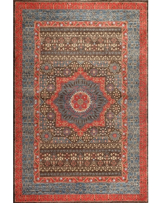 Safavieh Mahal Navy/Red 4 ft. x 6 ft. Area Rug