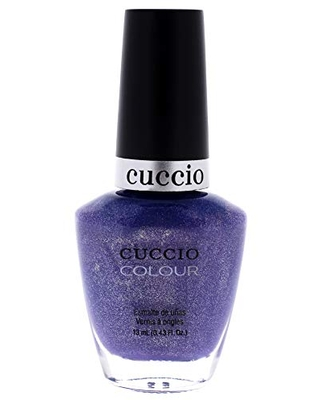 Cuccio Colour Nail Polish - Touch Of Evil - Nail Lacquer for Manicures & Pedicures, Full Coverage - Quick Drying, Long Lasting, High Shine - Cruelty, Gluten, Formaldehyde & 10 Free - 0.43 oz