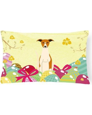 The Holiday Aisle Easter Eggs Whippet Lumbar Pillow THLA4381