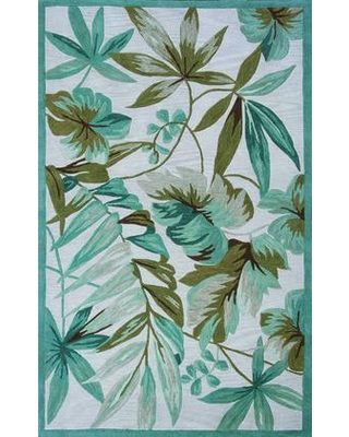 """349764 5' x 7'6"""" Polyester Area Rug in"""