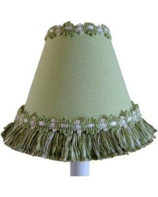 "Silly Bear Lighting Soft Grass 11"" Fabric Empire Lamp Shade LS-509"