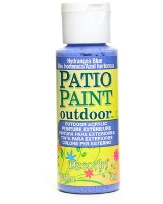 Decoart Patio Paint Hydrangea Blue 2 Oz. [Pack Of 8] (8Pack DCP33-3) | Quill