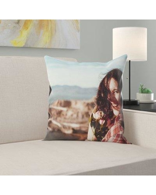 East Urban Home Woman Throw Pillow W000392817