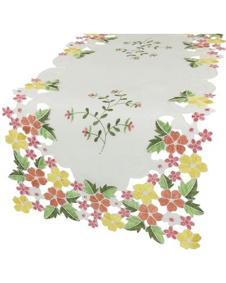 August Grove Magdalena Rectangular Table Runner AGGR6426 Color: Pink