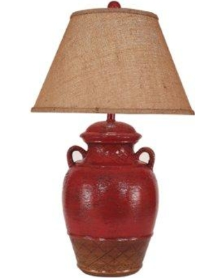 "August Grove Halladay Ginger Jar 29"" Table Lamp with 2 Handles AGRV2713"