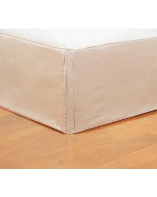"Eastern Accents Bardot Marilyn Chamois 16"" Bed Skirt EAN5936 Size: Queen"