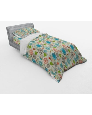 Duvet Cover Set East Urban Home Size: Twin XL Duvet Cover + 2 Additional Pieces