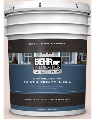 BEHR ULTRA 5 gal. #760A-2 Palatial Satin Enamel Exterior Paint and Primer in One