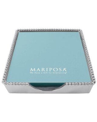 Mariposa String of Pearls Beaded Luncheon Napkin Holder 2242-L