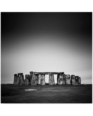 "Winston Porter 'Stonehenge' Photographic Print on Wrapped Canvas WNPO5179 Size: 18"" H x 18"" W x 2"" D"