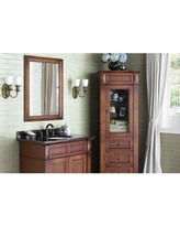 """Ronbow William Accent Mirror 606127-F11 Size: 35.44"""" H x 27.44"""" W x 1.19"""" D Finish: Cherry"""