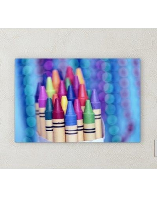 "East Urban Home 'All Colors' Graphic Art Print on Wrapped Canvas BF072150 Size: 8"" H x 10"" W x 2"" D"