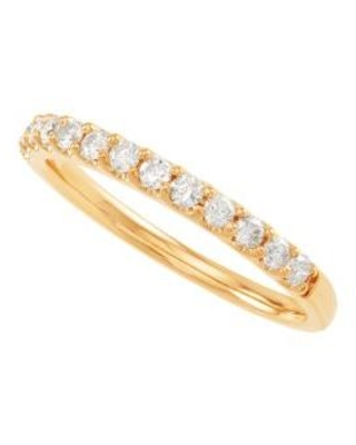 Belk & Co. Gold My Forever 1/3 ct. t.w. Diamond Wedding Band in 10K Yellow Gold
