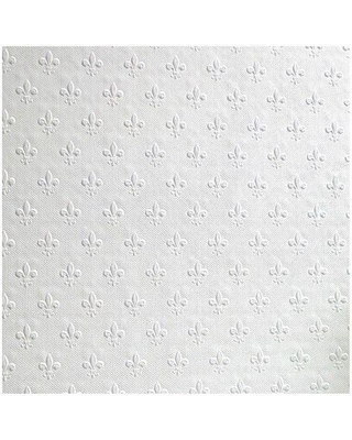 Anaglypta 56.4 sq. ft. Tudor Paintable Anaglytpa Original Wallpaper, White & Off-White