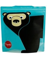 3 Sprouts 3 Sprouts Bear Sandwich Bag USWBEA