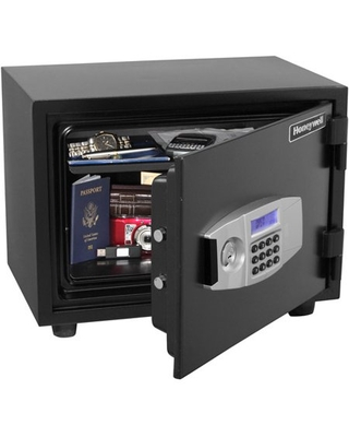 Honeywell 0.6 cu. ft. Water Resistant Steel Fire and Security Safe, 2113