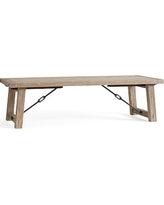 Benchwright Extending Dining Table, Extra-Large, Seadrift