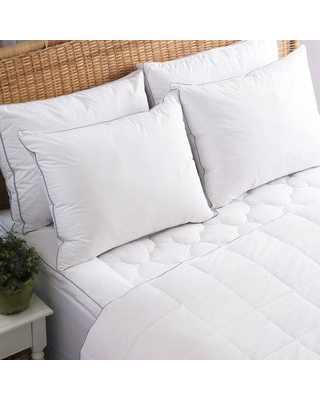 Allied Home King PerfectCool Thermoregulating Mattress Pad White