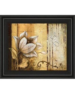 Classy Art Wholesalers Exotic on Gold II by Patty Q Framed Painting Print 4832
