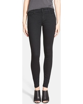 Women's Mother 'The Looker' Mid Rise Skinny Jeans, Size 23 - Black