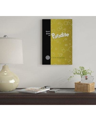 """East Urban Home 'This Side Of Paradise By Robert Wallman' By Creative Action Network Graphic Art Print on Wrapped Canvas FVNF4611 Size: 18"""" H x 12"""" W x 0.75"""" D"""