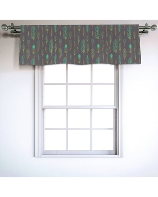 """Feather 54"""" Window Valance East Urban Home"""