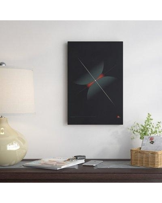 "East Urban Home 'Collision I' Graphic Art Print on Canvas EAOU2966 Size: 18"" H x 12"" W x 0.75"" D"