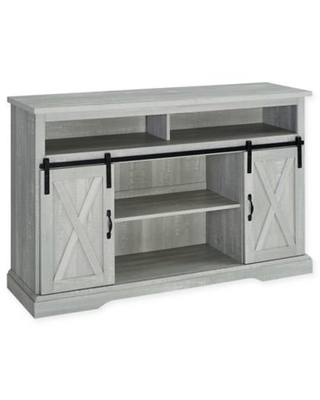 Forest Gate™ Englewood 52-Inch Barn Door TV Stand in Stone Grey