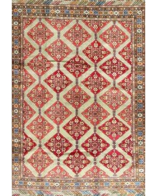 Find Big Savings On Bloomsbury Market Penarth Traditional Red Black Area Rug X112036252 Rug Size Round 6