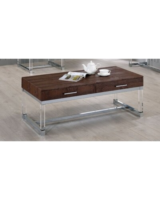 New Deal For Maxwell Trestle Coffee Table With Storage Mercer41 Color Brown