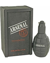 Arsenal Black For Men By Gilles Cantuel Eau De Parfum Spray 3.4 Oz