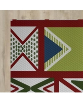 The Holiday Aisle Red Indoor/Outdoor Area Rug HLDY1429 Rug Size: Rectangle 3' x 5'