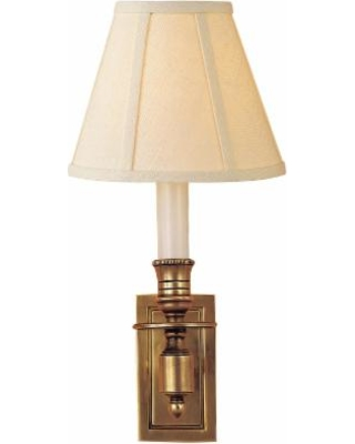 Visual Comfort and Co. Studio Vc French Library 12 Inch Wall Sconce - S 2210HAB-L