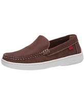 Marc Joseph New York Kids Loafer, Brown Jeans Perforated/Contrast stitch, 5 US medium