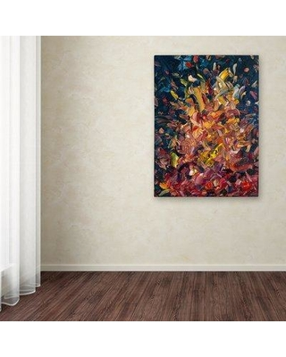 """Winston Porter 'Fire' Print on Wrapped Canvas WNST5608 Size: 19"""" H x 14"""" W"""