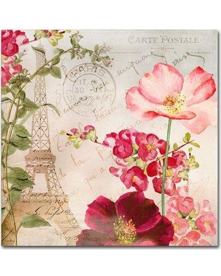 """Trademark Art 'Always Paris I' by Color Bakery Graphic Art on Wrapped Canvas ALI5007-C Size: 24"""" H x 24"""" W x 2"""" D"""