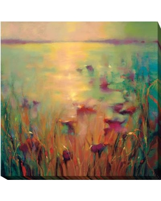 "Artistic Home Gallery 'Morning' by Donna Young Painting Print on Wrapped Canvas 619CG Size: 24"" H x 24"" W x 1.5"" D"