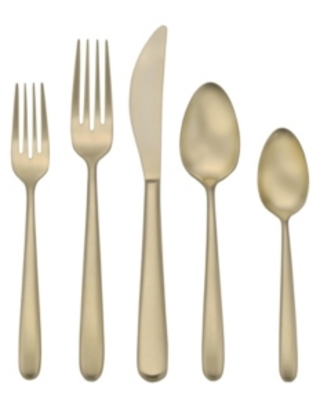 Robinson Valley Falls Dusk Champagne 20-pc Flatware Set, Service for 4