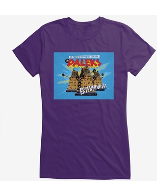 Doctor Who Power Cant Stop The Daleks Girls T-Shirt