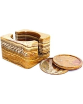 Nature Home Decor 7 Piece Coaster Set CSCH6ML