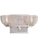 "Bianco 6"" High Polished Nickel 2-LED Wall Sconce"