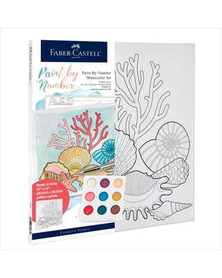 Faber-Castell Paint by Number Watercolor Set - Coastal